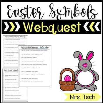 Easter Symbols Webquest