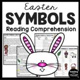 Easter Symbols and Traditions Reading Comprehension Worksheet Spring