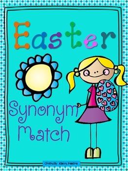 Easter Synonym Match