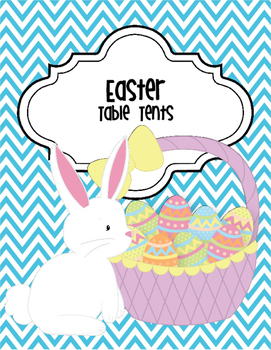 Easter Table Tents