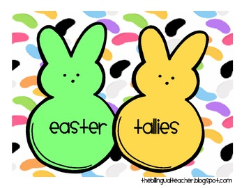 Easter Tallies 1-30