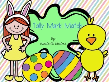Easter Tally Mark Match