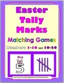 Spring Math - Bunny Tally Marks Matching Game