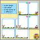 Easter Task Card Templates - Four Designs, Color and B/W
