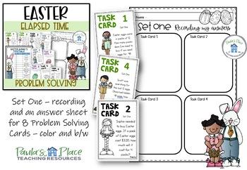 Easter Egg Hunt Task Cards