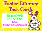 Easter Literacy Task Cards - Aligned with FSA & CCSS