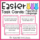 Easter Task Cards: Figurative Language | Easter Activities