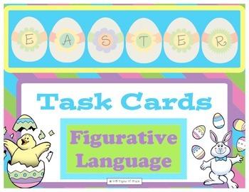 Easter Task Cards-Figurative Language
