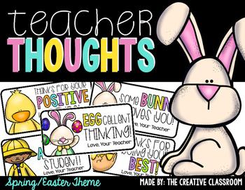 Easter Teacher Notes