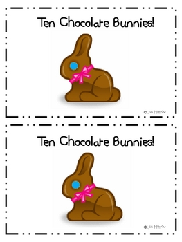 Easter-Ten Chocolate Bunnies Interactive Counting Book
