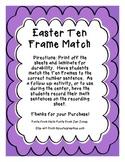Easter Ten Frame Match
