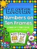 Easter Ten Frame Task Cards / Roam the Room (0-10)