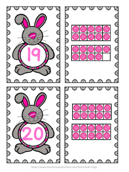 Easter Ten Frames