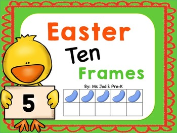 Easter Ten Frames