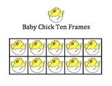 Easter Ten Frames - Baby Chick