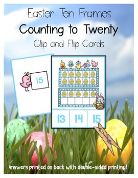 Easter Ten Frames - Counting to Twenty