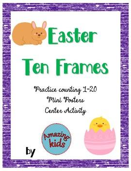 Easter Ten Frames - FREE