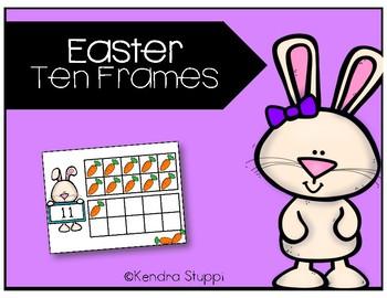 Easter Ten Frames {FREEBIE!}