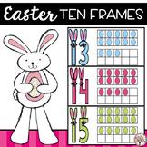 Easter Ten Frames Freebie