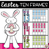 Easter Ten Frames Freebie