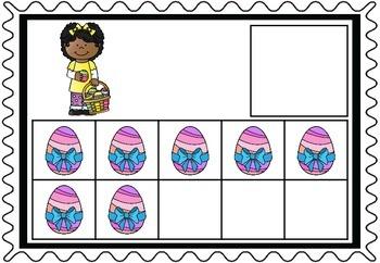 Easter Tens Frames