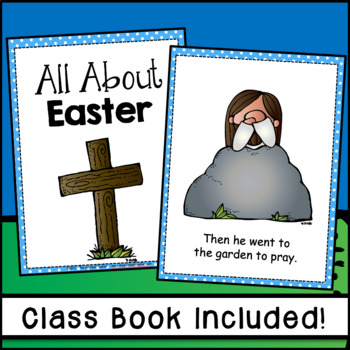 Easter - The Easter Story Emergent Reader