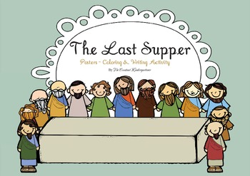 Easter - The Last Supper Freebie!