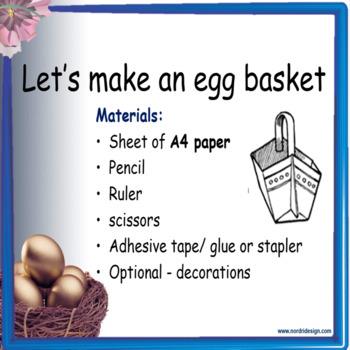 Easter – The 'irregular verb'  egg hunt