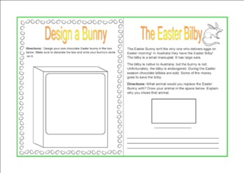 Easter Thematic Unit - Grades K-1-2 - US English