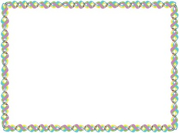 Easter Theme (Border, Backgrounds and Clip Art)