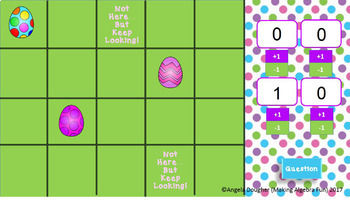 Easter Theme Egg Hunt Game Editable Template Add Your Questions