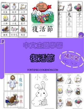 Easter Theme FULL Pack  (Traditional Chinese)