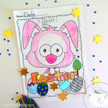 Easter Worksheets and Activities - Easter Art, Writing, Spelling, Reading & Math