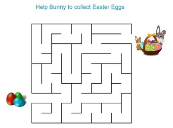 Easter Theme Printables Coloring, Word Search, Learn to Count
