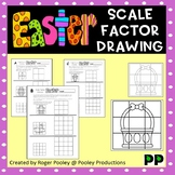 Easter Theme Scale Factor Drawing, 8 pgs, teacher notes