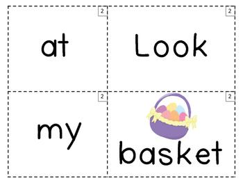 Easter Theme Sentence Builder! 100 FOLLOWER FREEBIE!