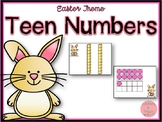 Easter Theme Teen Numbers