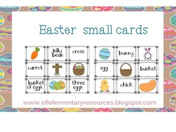 Easter Theme for Elementary ELL