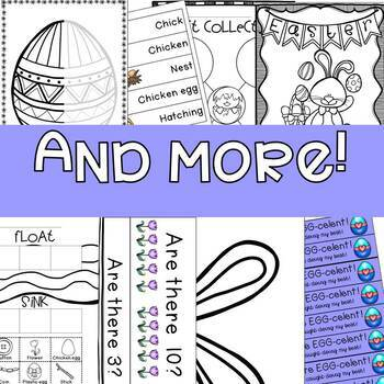 Easter Themed Activities for Preschool, How to Decorate an Easter Egg, Centers