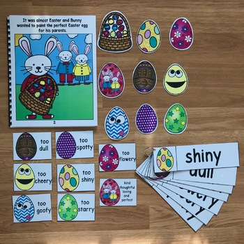 """Easter Themed Adapted Book:  """"That's Not The Egg"""""""