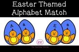 Easter Themed Alphabet Match