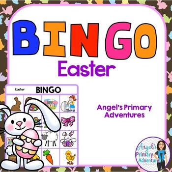 Easter Themed Bingo Game