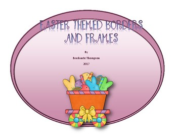 Easter Themed Borders and Frames