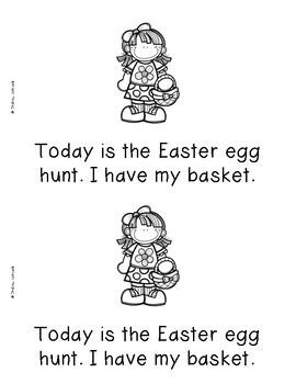 Easter Emergent Readers {Set of 5}