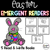 Easter Emergent Readers {Set of 5 Read and Write Books}