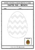Easter Themed FREE Printables – Tracing and Colouring
