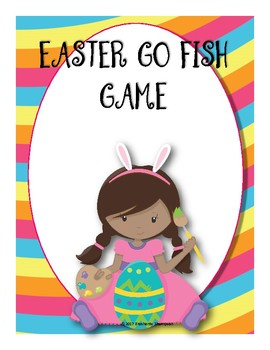 Easter Themed Go Fish Game or Concentration Game