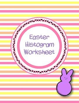 Easter Themed Histogram Worksheet