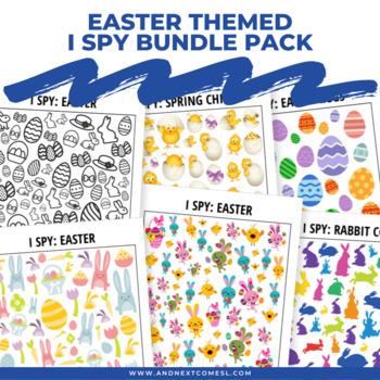 Easter Themed I Spy Games Pack
