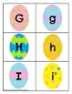 Easter Themed Letter Recognition Centers and Puzzles